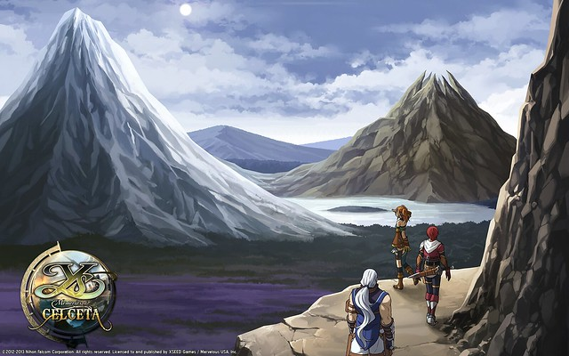 Ys: Memories of Celceta Art