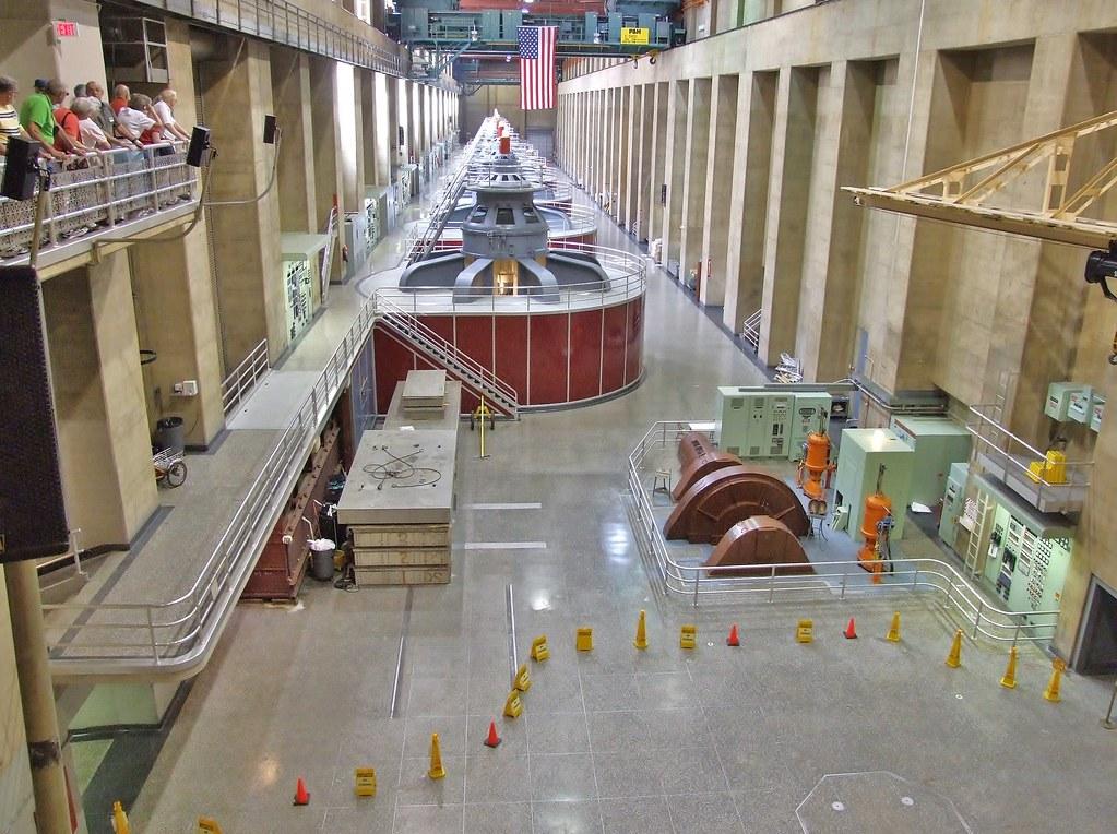 DSCF0388 Hoover Dam Tour - Generator Room | Colin Miller