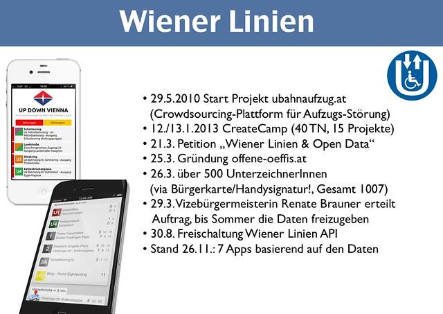 Wiener Linien und open data