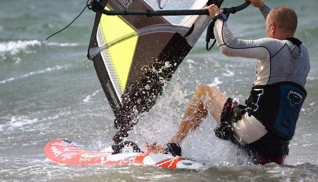 Windsurfing mooloolaba