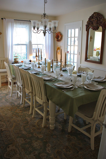 Dining Room ready for Family!
