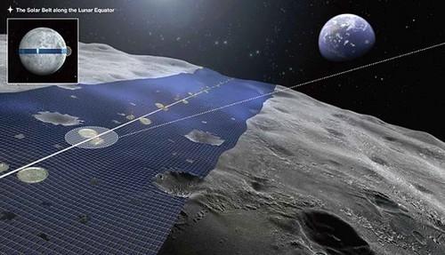 Luna Ring – солнечная электростанция на Луне мощностью в 13 петаватт