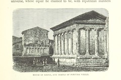 """British Library digitised image from page 129 of """"Rome ... With ... illustrations. A new edition"""""""