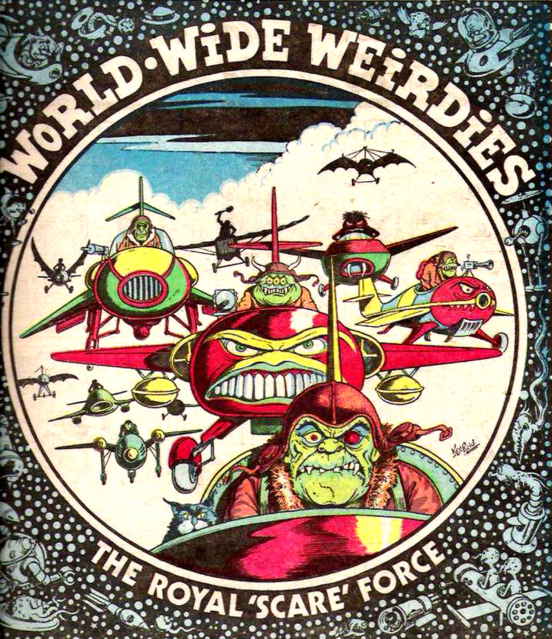Ken Reid - World Wide Weirdies 105