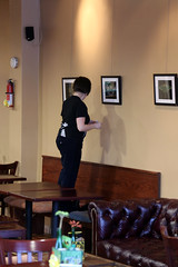 Mary-Therese Art Exhibit at Hobbs Coffee - December 7, 2013