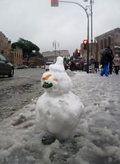 Roma - Nevicata del 4 Febbraio 2012