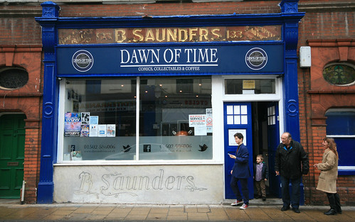 Dawn of Time, High Street, Lowestoft, Suffolk