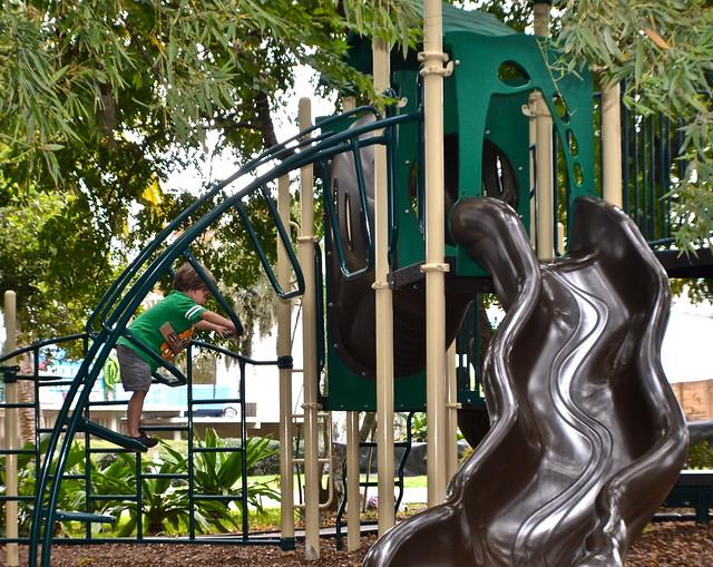 Weeki Wachee, Florida - playground