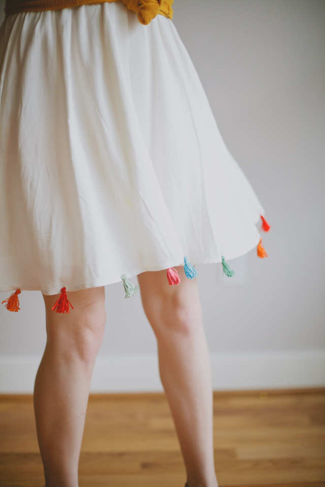 DIY Tassel Skirt