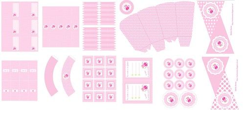 Kit  Imprimible Peppa Pig Hada Merbo Events