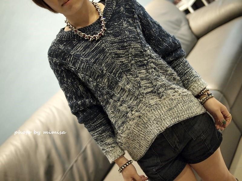 Queen Shop 毛衣 牛仔短褲 (5)