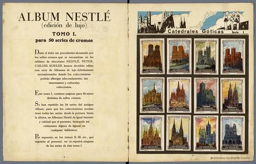 006-Album Nestle tomo I-pag 1-Biblioteca Digital Hispánica