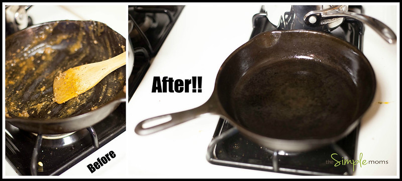 Cast Iron Before and After Logo