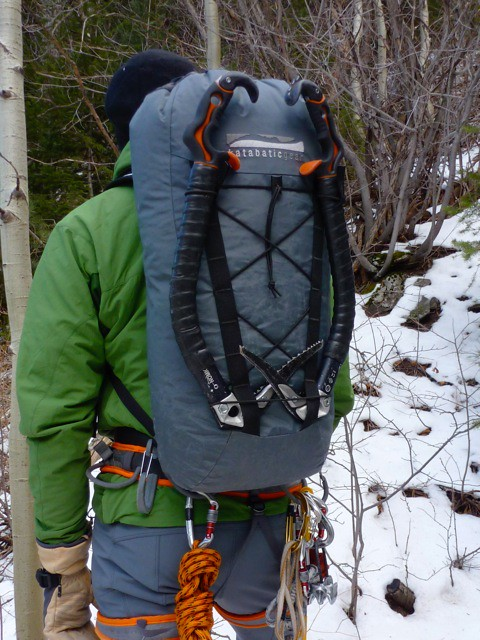 Katabatic Gear climbing pack