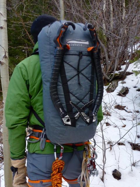 Katabatic Gear climbing pack