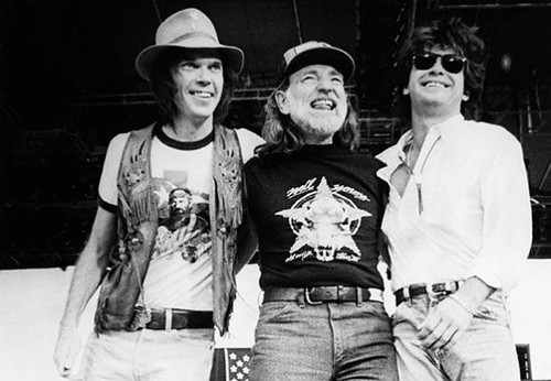 Willie Nelson Neal Young John Melencamp