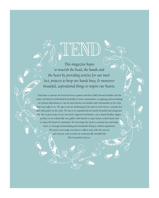 Tend Magazine BLOG