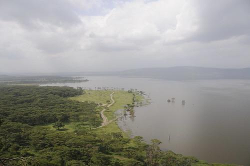 panorama nature landscape day cloudy kenya natur natuur landschaft kenia landschap lakenakurunationalpark lakenakurunp