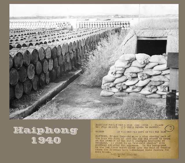 HAIPHONG  1940 - IN THE TROUBLE ZONE OF THE FAR EAST