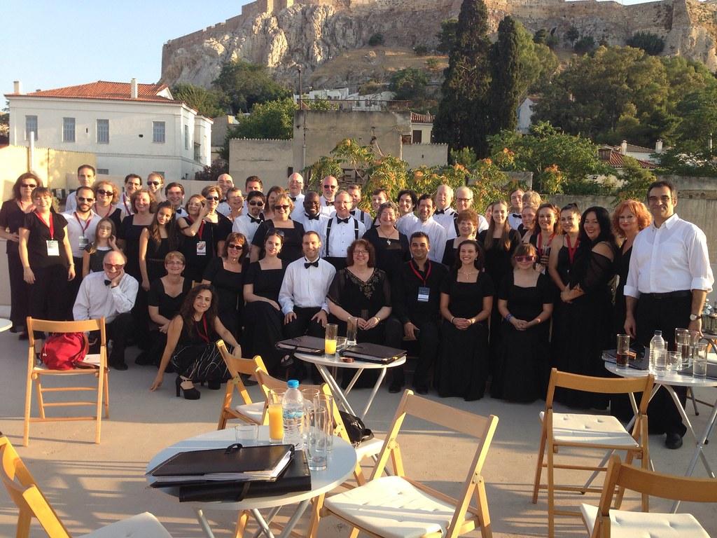 Harmonium Choral Society with Oi Melodoi Choir in Athens
