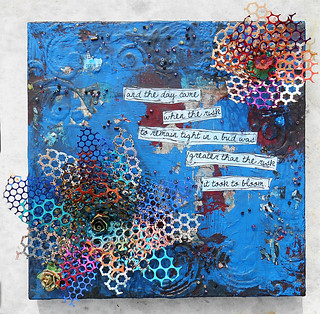 And the day came ... Mixed Media Canvas