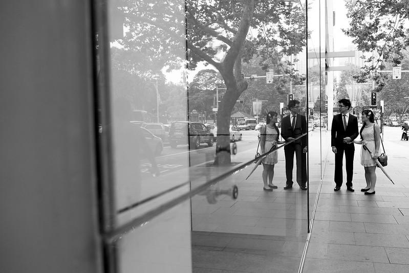 film noir engagement shoot sydney