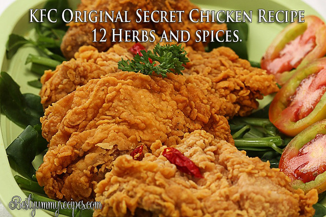 KFC Original Secret Chicken