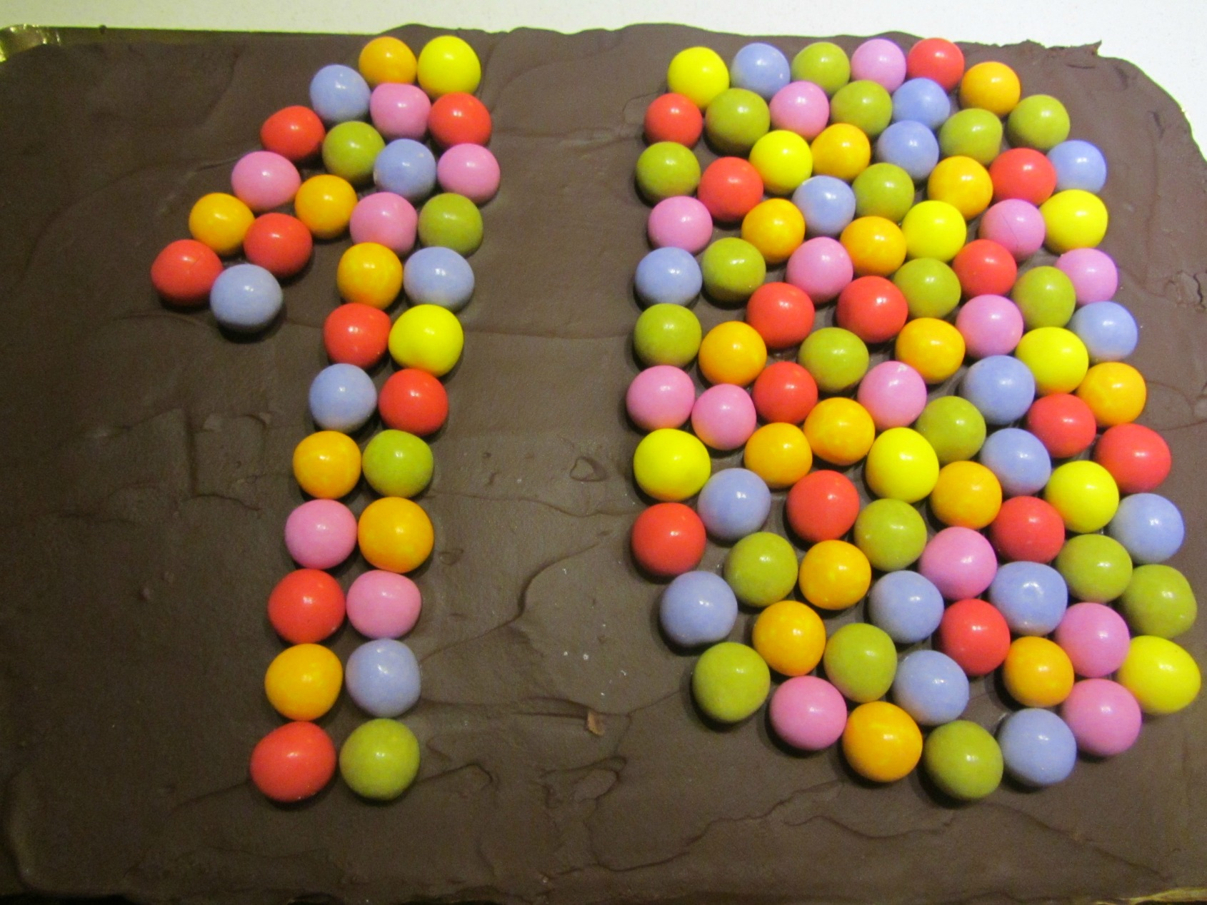 Chocolate birthday cake2