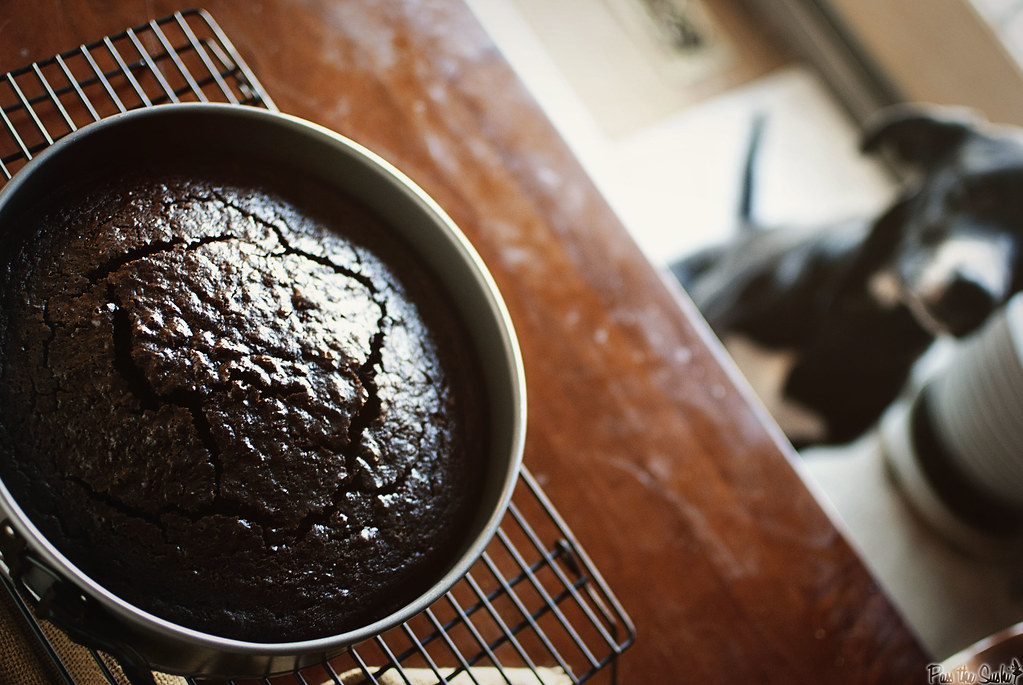 Chocolate Whiskey Cake \\ PasstheSushi.com