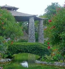 Chinese (really Japanese) friendship garden,  San Antonio TX