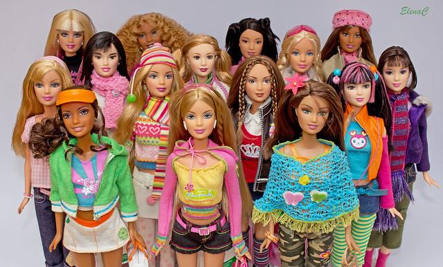 Il mondo di barbie e delle altre fashion dolls.
