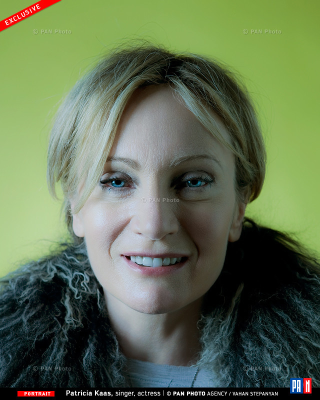 French singer Patricia Kaas