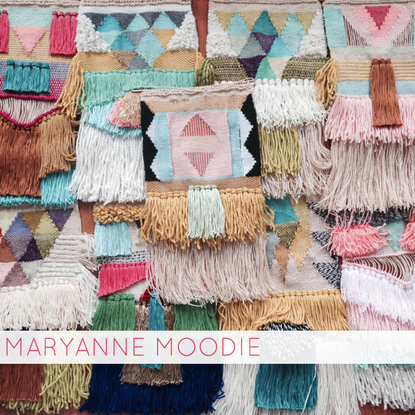 handmade things I'm loving right now (Weavings by Maryanne Moodie) | Emma Lamb