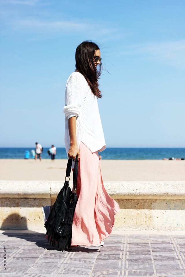 pink skirt blogger 14