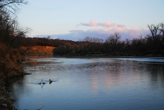 Elkhorn River at Sunset