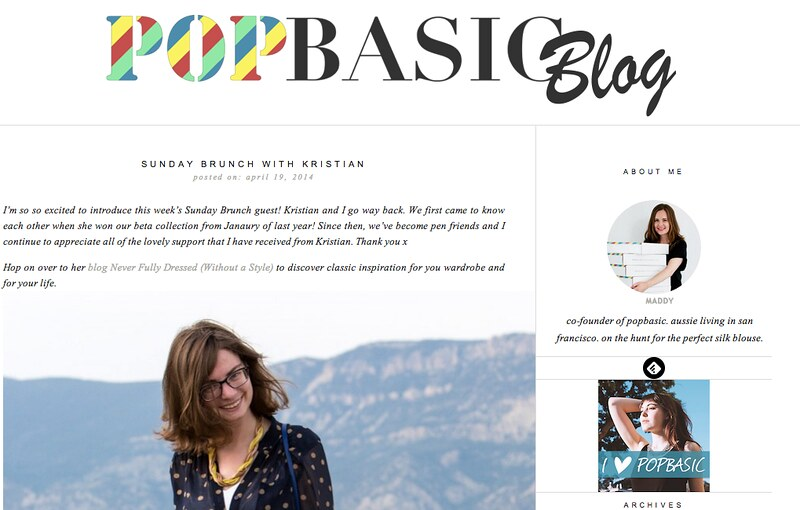 Popbasic blog interview