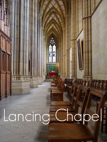 Lancing College Chapel, England, West Sussex