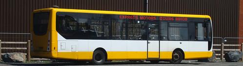 bus centro aberystwyth plaxton expressmotors cx09ems
