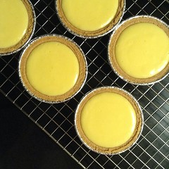 Summer treat! Mini key lime #pies. Homemade by Andy. Yes, he's the best.