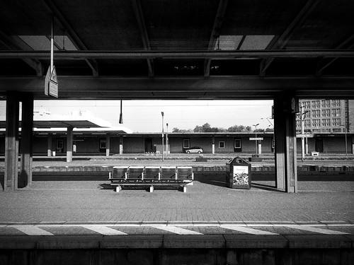 Braunschweig, Gleis 6, 8:56 Uhr