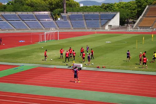 2014/04/24 京都サンガFC 西京極公開練習 #01