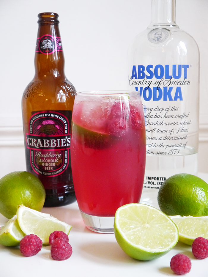 crabbies raspberry moscow mule cocktail recipe degustabox 1