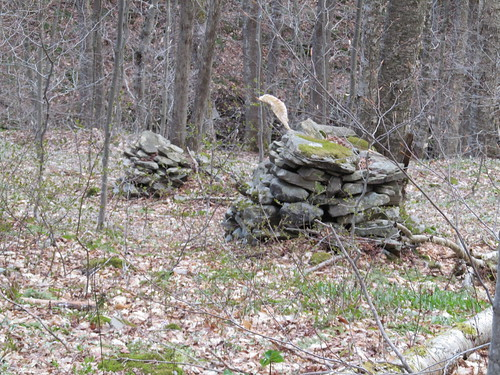 Old stone piles