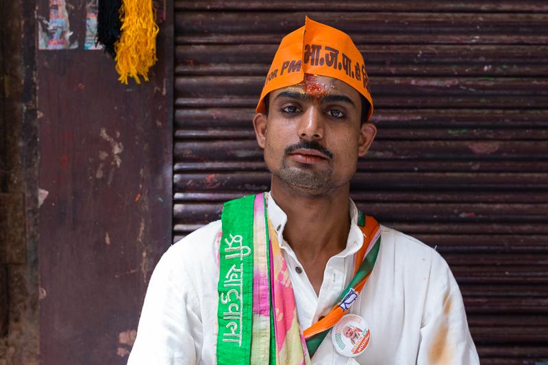 Modi supporter