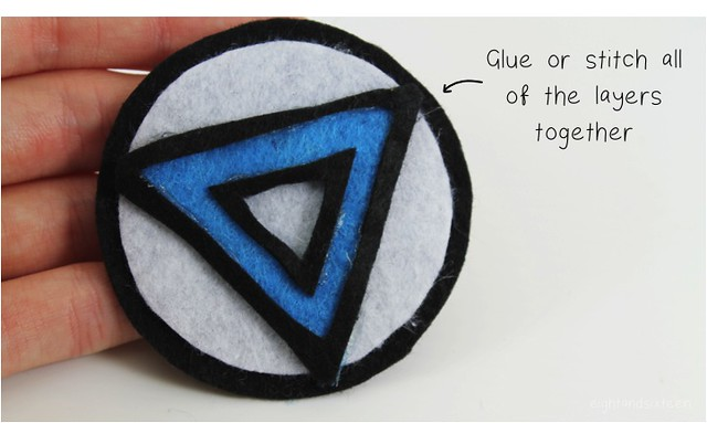 diy arc reactor brooch 7