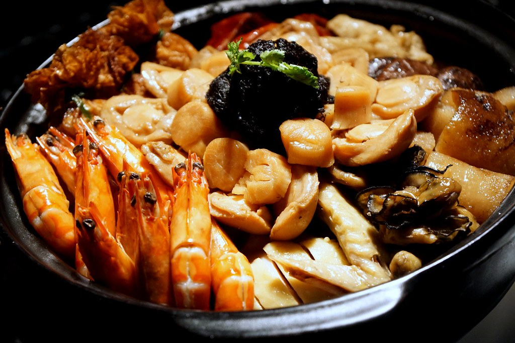 chinese new year menu - review - five sen5es westin KL-004