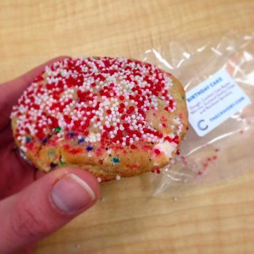 birthday cake cravory cookie
