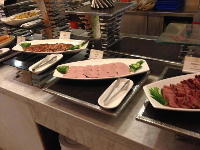 冷盤的肉@台中裕元花園酒店