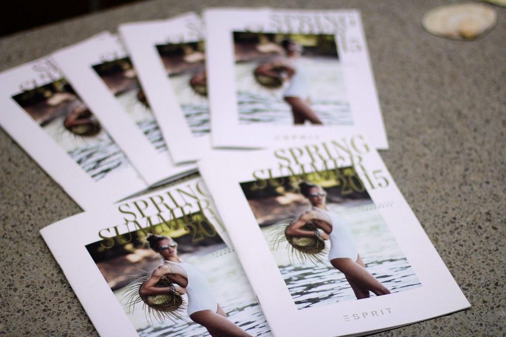 esprit x caroline blomst swimwear collection launch lisforlois