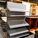 Metal racking shelf unit x 2